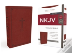 Wook.pt - Nkjv, Thinline Bible, Standard Print, Imitation Leather, Red, Red Letter Edition