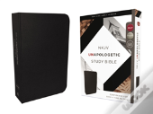 Nkjv, Unapologetic Study Bible, Bonded Leather, Black, Red Letter Edition