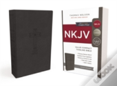 Nkjv, Value Thinline Bible, Compact, Imitation Leather, Black, Red Letter Edition