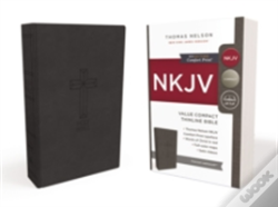 Wook.pt - Nkjv, Value Thinline Bible, Compact, Imitation Leather, Black, Red Letter Edition