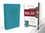 Nkjv, Value Thinline Bible, Compact, Imitation Leather, Blue, Red Letter Edition