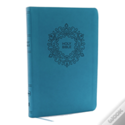Wook.pt - Nkjv, Value Thinline Bible, Large Print, Imitation Leather, Blue, Red Letter Edition
