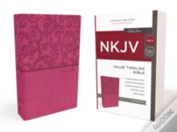Wook.pt - Nkjv, Value Thinline Bible, Standard Print, Imitation Leather, Pink, Red Letter Edition