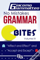 No Mistakes Grammar Bites, Volume Iv