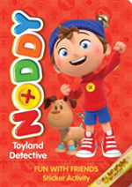 Noddy Toyland Detective Sticker Activity