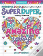 Notebook Doodles Super Duper Coloring & Activity Book