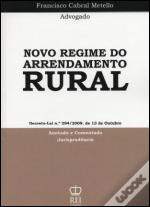 Novo Regime do Arrendamento Rural