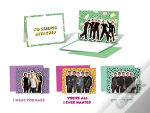 *Nsync Pop-Up Notecards