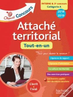 Wook.pt - Objectif Concours 2018 Attache Territorial (Concours Interne)