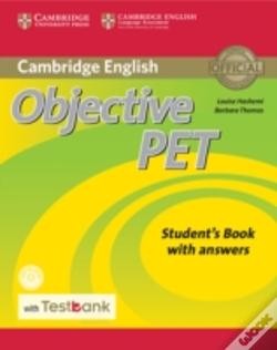 Wook.pt - Objective Pet Student'S Book With Answers With Cd-Rom With Testbank