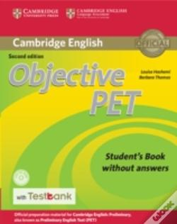 Wook.pt - Objective Pet Student'S Book Without Answers With Cd-Rom With Testbank