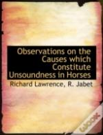 Observations On The Causes Which Constit