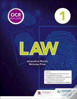 Wook.pt - Ocr As/A Level Law Book 1