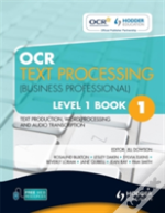 Ocr Text Processing (Business Professional)