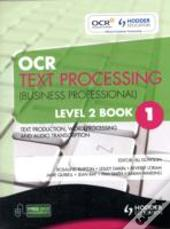 Ocr Text Processing (Business Professional) Text Production, Word Processing And Audio Transcription