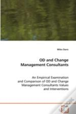 Od And Change Management Consultants