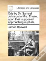 Ode By Dr. Samuel Johnson To Mrs. Thrale
