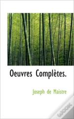 Oeuvres Complètes.