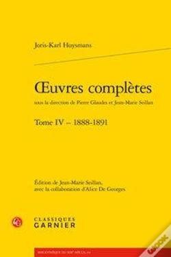 Wook.pt - Oeuvres Completes. Tome Iv - 1888-1891