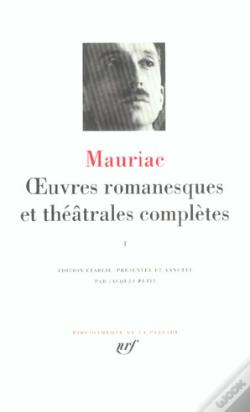Wook.pt - Oeuvres Romanesques Et Theatrales Completes T.1