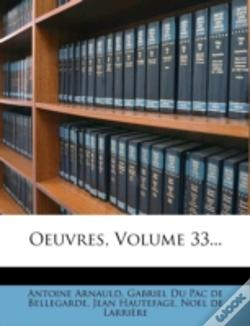 Wook.pt - Oeuvres, Volume 33...