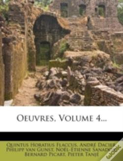 Wook.pt - Oeuvres, Volume 4...