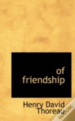 Of Friendship