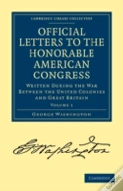 Wook.pt - Official Letters To The Honorable American Congress