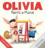 Olivia Paints A Mural