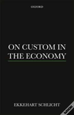 Wook.pt - On Custom In The Economy P Paperback