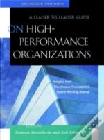 On High-Performance Organizations