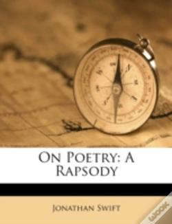 Wook.pt - On Poetry: A Rapsody