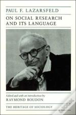 On Social Research And Its Language