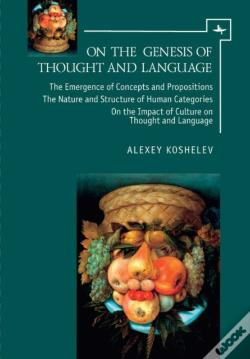 Wook.pt - On The Genesis Of Thought And Language