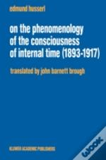 On The Phenomenology Of The Consciousness Of Internal Time, 1893-1917