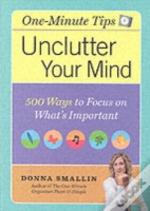 One-Minute Organiser To Unclutter Your Mind