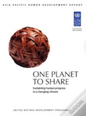 One Planet To Share