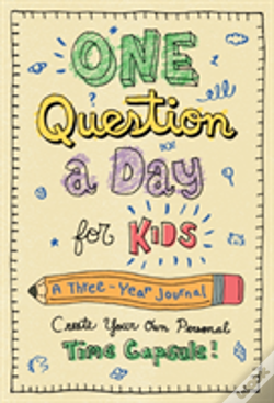 Wook.pt - One Question A Day For Kids: A Three-Year Journal