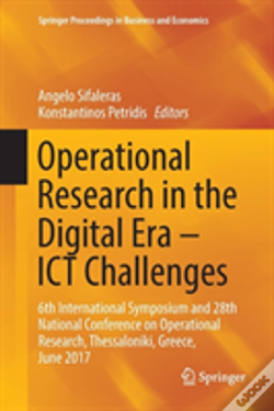 Wook.pt - Operational Research In The Digital Era - Ict Challenges