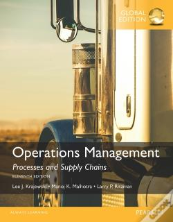 Wook.pt - Operations Management: Processes And Supply Chains, Global Edition