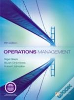 Operations Managementand Quantitative Analysis In Operations Management