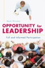 Opportunity For Leadership