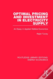 Optimal Pricing Investment Elec S