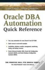 Oracle Dba Automating Quick Reference