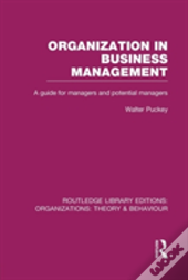 Organization In Business Management