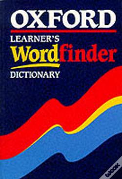Wook.pt - Oxford Learner'S Wordfinder Dictionary