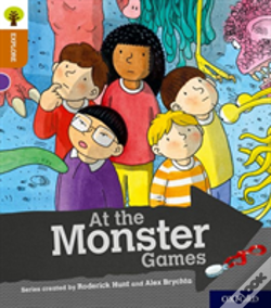 Wook.pt - Oxford Reading Tree Explore With Biff, Chip And Kipper: Oxford Level 8: At The Monster Games