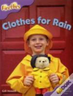 Oxford Reading Tree: Stage 1+: More Fireflies A: Clothes For Rain