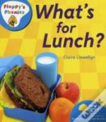 Oxford Reading Tree: Stage 3: Floppy'S Phonics Non-Fiction: What'S For Lunch?
