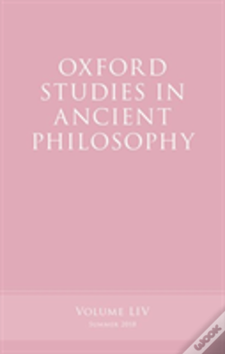 Wook.pt - Oxford Studies In Ancient Philosophy, Volume 54